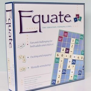 Equate Board Game (Brand New in Box)